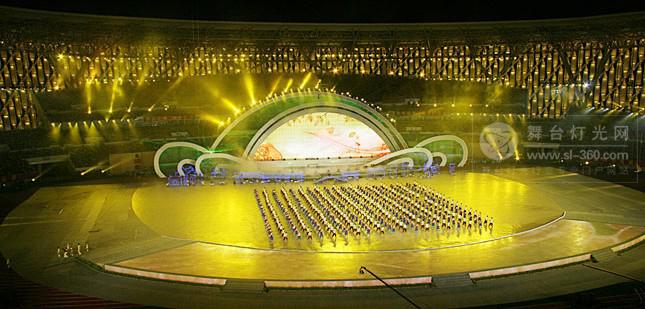 国产灯光又建伟功 广州亚运会舞台灯光技术超奥运会
