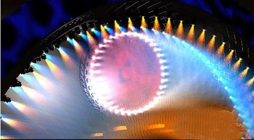 炫彩无比的舞台灯光设计方案