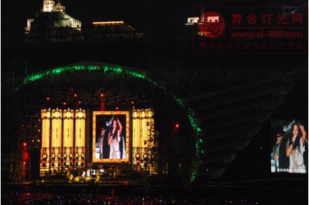 明星演唱会攀比成时尚 舞台设备动辄数千万