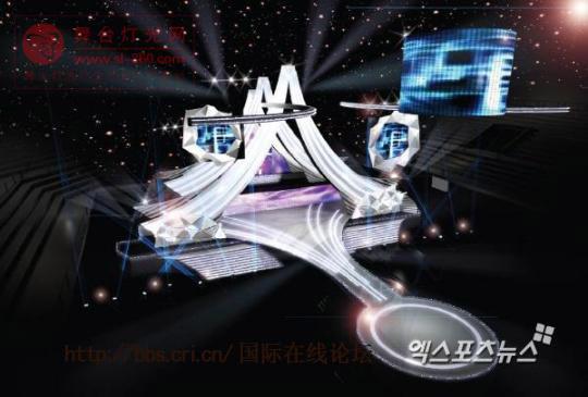 2011年亚洲音乐盛典颁奖典临近 豪华舞台首度曝光