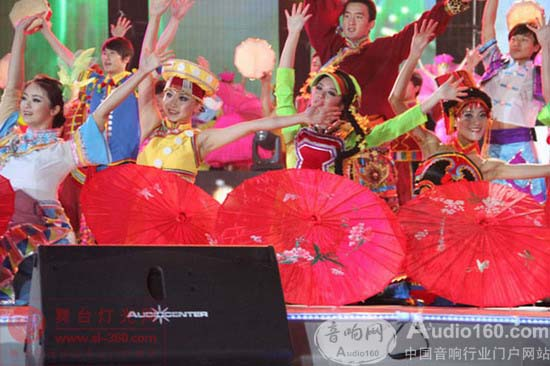 Audiocenter为2012云南卫视大型跨年晚会添彩