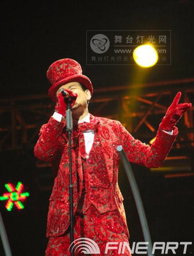 """彩熠助""""歌神""""打造音乐盛典<br>――张学友""""1/2世纪巡回演唱会""""福州站"""
