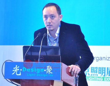 王力宏舞台灯光设计师罗扬文亲临北京照明展