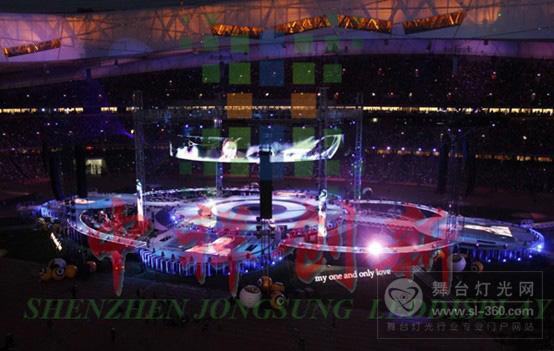 解析北京鸟巢滚石30周年演唱会背景LED显示屏设计方案