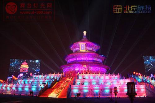 地理中国:2012新年倒计时 绚丽3D灯光秀
