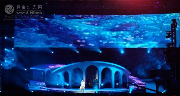 ACME灯具为张信哲2011世界巡演增光添彩