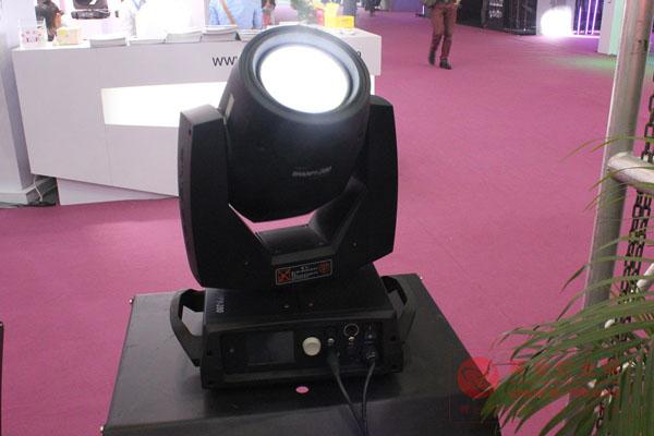彩熠盛装亮丽2012上海国际专业灯光音响展