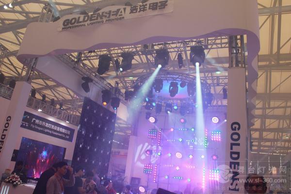 广州浩洋LED屏亮相2012上海灯光音响展