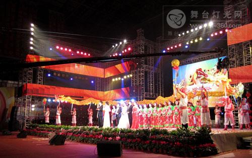 成都/百威VR212线阵列音响系统助阵成都双流2012春节联欢晚会