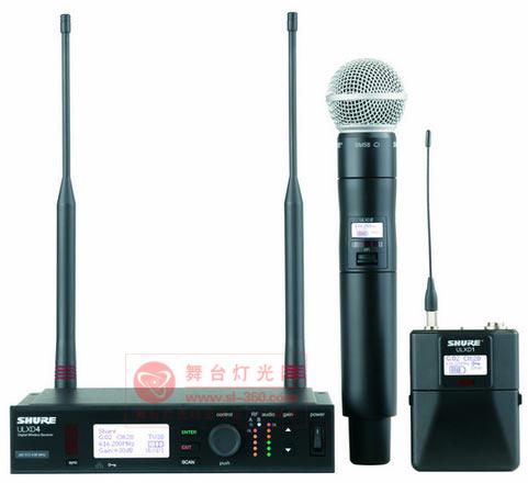舒尔推出全新ULX-D数字无线系统