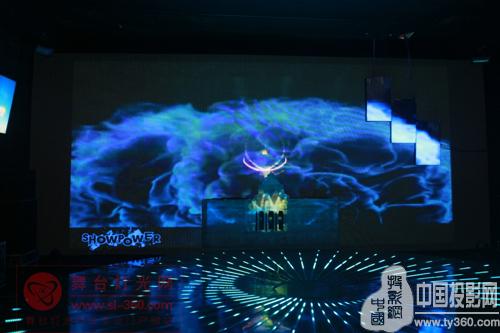 最炫展示厅 风光秀力惊艳国际音响灯光展