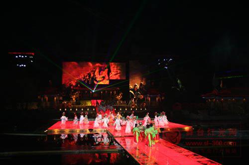 彩熠光耀历史实景舞剧《长恨歌》