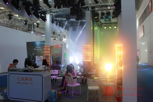 广州市仁丰声光产品闪耀北京PALM展