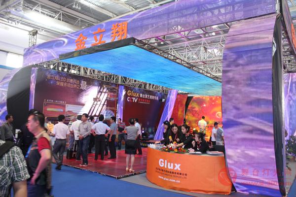 PALM2012 金立翔展示顶级LED数字舞台