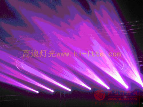 高浪灯光功夫熊猫系列280W光束灯登场