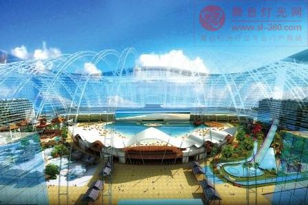 """洲明""""智造""""世界最大户内显示屏  进驻成都新世纪海洋乐园"""