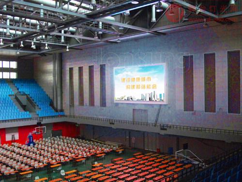 中祥创新超清体育馆LED显示屏直击全国大运会